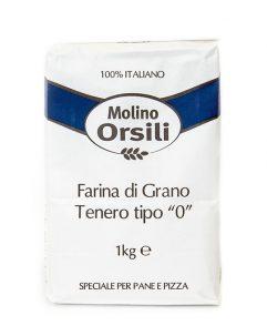 "Farina ""0"" #OrsiliMolino"